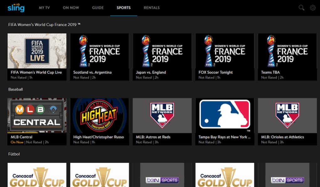 Sling TV Firestick Apps